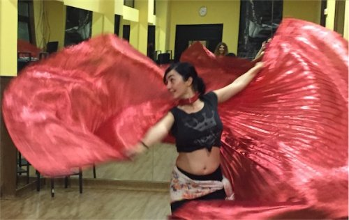 Curso Intensivo Alas de Isis, de danza del Vientre