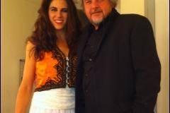 Leena Qadi y Javier Coronas