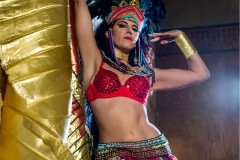 Danza Faraónica con Alas de Isis