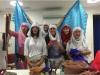 Leena Qadi y sus alumnas