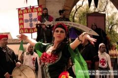 Leena Qadi en el Mercado Medieval de Almodobar