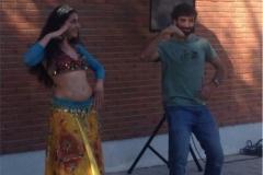 Danza del Vientre Jornada Bienvenida UCM
