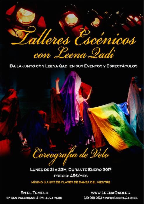 talleres escenicos, coreografia velo, compañía formativa, compañia amateur, coger tablas en escena, entrar compañia danza