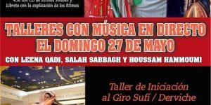 Taller intensivo danza del vientre, ritmos arabes aplicados a la danza oriental, taller giro sufi, taller giro derviche, taller ritmologia arabe