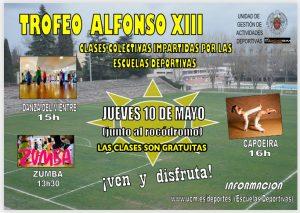 Clase gratuita de Danza del Vientre, Zumba y Capoeira @ Entre la Cafetería y el Rocódromo, Escuelas Deportivas UCM Complejo Sur
