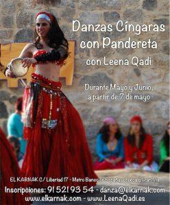 Danzas Cíngaras con Pandereta @ Academia El Karnak