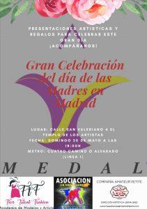 Celebración del Día de las Madres, en Madrid @ El Templo