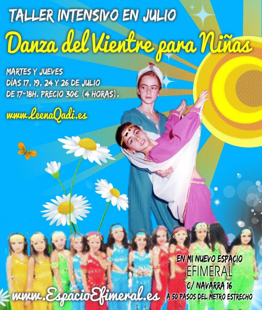 clases infantiles danza del vientre, danza del vientre para niñas,