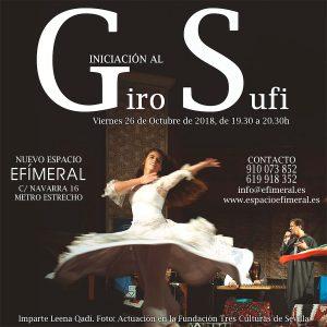 Iniciación al Giro Sufi @ Espacio Efímeral