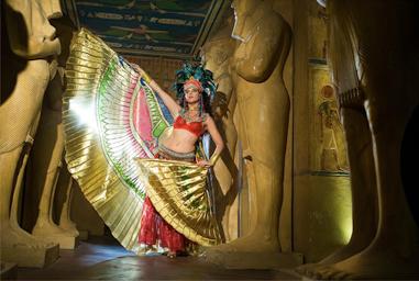 danza faraonica de fantasia, danza planetaria